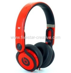 Roterende Beats by Dr.Dre Mixr DJ Over-ear hoofdtelefoon Red