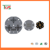 led pcb 12v round with pcb assembly
