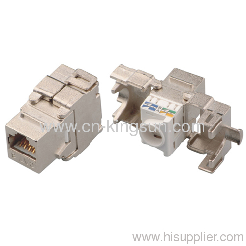 Shielded FTP Keystone Jack Cat.6/Cat.6A RJ45