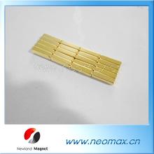 Gold coating neodymium magnets wholesale