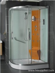 shower room with ABS and acrylic tray
