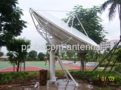 Probecom 4.5m Ku band receive only antenna