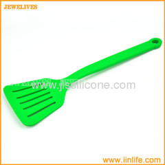 Colorful silicone kitchen spatulas