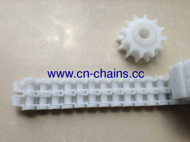 Plastic straight run coupling chains from china