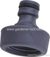 Soft garden water tap coupling