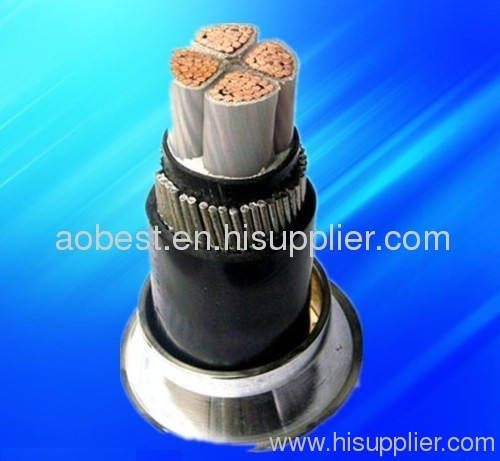 steel wire armored XLPE power cable