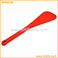 Silicone kitchen flat spatulas with attractive colors