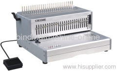 Electric Comb Binding Machine 32 punch