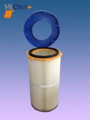 filtro rivestimento elettrostatico della polvere