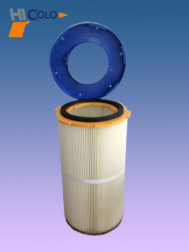 electrostatic powder coating filter