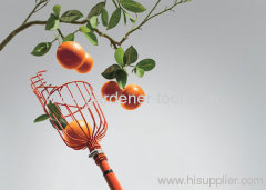 Metal Garden Fruit Picker With dip surface treatment