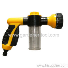 Car Wash Water Spray Gun With Soap bottle