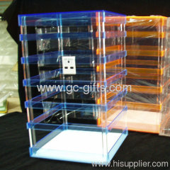 6 layers display rack for kinds of earrings