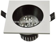 Led Downlights square lamp 1Wx3 Led Ceiling light