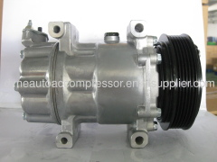 supply sanden new compressor SD6V12 OEM SD1439 SD1438 SD1430 FOR PEUGEOT 206/307 CITROEN C2 /BERLINGO PARTNER