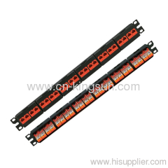 24 Ports Cat.5e Patch Panel