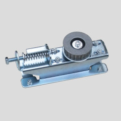Automatic sliding door pulley