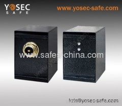 Yosec dual key lock under-counter safes/Bank deposit safe box