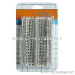 TRANSPARENT SOLDERLESS BREADBOARD