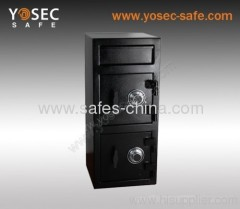 Yosec front-loading Depository safe with two doors