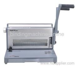 Heavy Duty Manual Wire Binding Machine 28punch