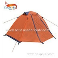 Single aluminum rod tent