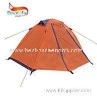 Single aluminum rod tent