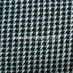 Interlock fabric made of wool/cotton/polyester