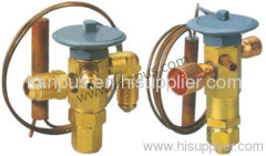 Sporlan type expansion valve for refrigeration and air conditioning