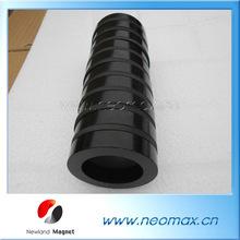 Black Epoxy bonded magnets for sale