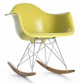 Eames Rar Rocking Chair, Plastic/fiberglass Chair, Leisure Chair, Classic  Chair,