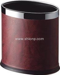 Oval room dust bin