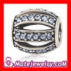 wholesale crystal european beads,sterling silver Leading Lady charm beads