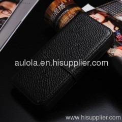 Wallet Style Protective PU Leather Case