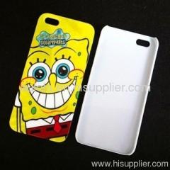 Square pants Design iphone5 Hard Back IMD Case
