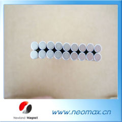 Coated Rare Earth Magnet Cylinder
