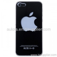 Protective PC Cases with Apple Symbol Pattern for Iphone5