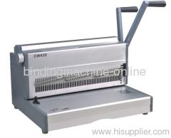 manual heavy duty wire binding machine