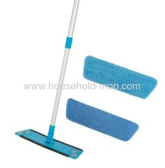 Microfibre Flat Mop High Performance with scrub stripes