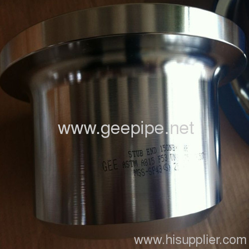 china MSS SP-43 lap joint flange stub ends