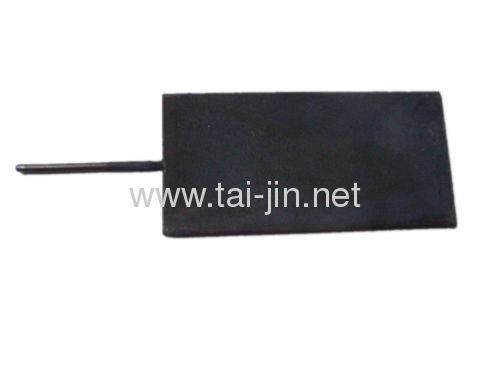 Titanium IrO2-Ta2O5 coated plate anode for electrolysing sewage