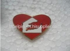 imitation hard enamel lapel pin