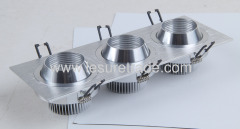 Led Ceiling Light 3x3x1W oxeye Square three in one