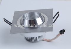 Led Downlights lamp 1W×3 oxeye Square shape Led Ceiling Light