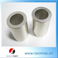 Magnetic neodymium cylinder shape
