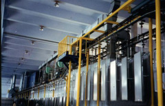 steel profile production line