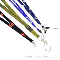 Nylon lanyards for keys