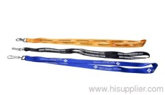 blue nylon lanyard for promotion