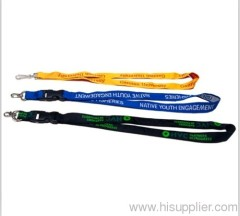 polyester custom printed lanyards