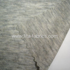 Rib fabric blended of tencel and wool